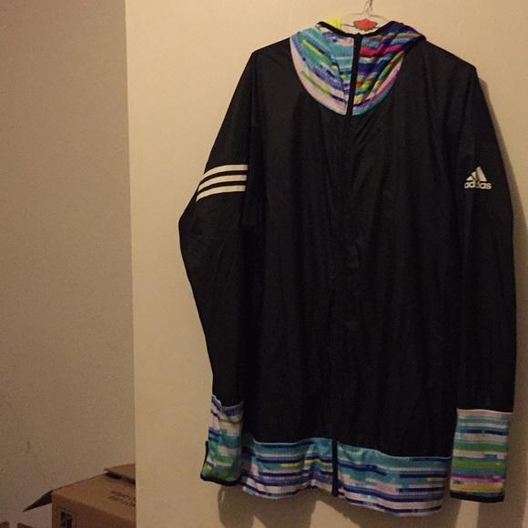 62a69f23001d Adidas Multi Color Windbreaker